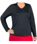 In-Between V-Neck Pullover 76M (CLOSEOUT) - In-Between Sale Tennis Apparel