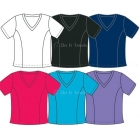 In-Between V-Neck Top (+ Sizes) 50W (CLOSEOUT) - Women's Plus Sizes Tops Tennis Apparel