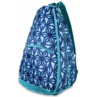 All For Color Indigo Batik Tennis Backpack - All for Color Tennis Bags