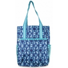 All For Color Indigo Batik Tennis Shoulder Bag - All for Color Tennis Bags