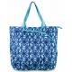 All For Color Indigo Batik Tennis Tote - All for Color Tennis Bags