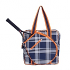 Ame & Lulu Abbey Plaid Icon Tennis Bag - Women's Tennis Bags