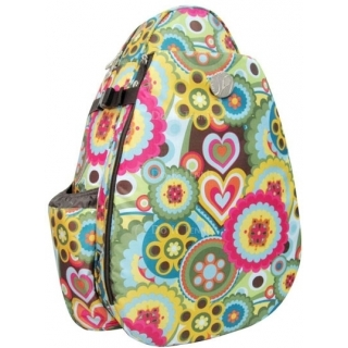 Jet Austin Flowers Large Sling Tennis Bag
