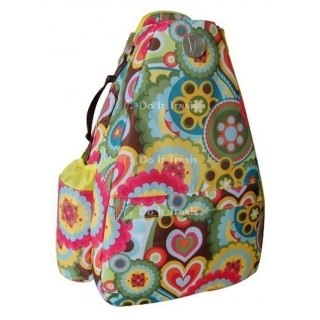 Jet Austin Flowers Small Sling Tennis Bag