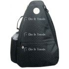 Jet Black Dot Small Sling - Tennis Racquet Bags