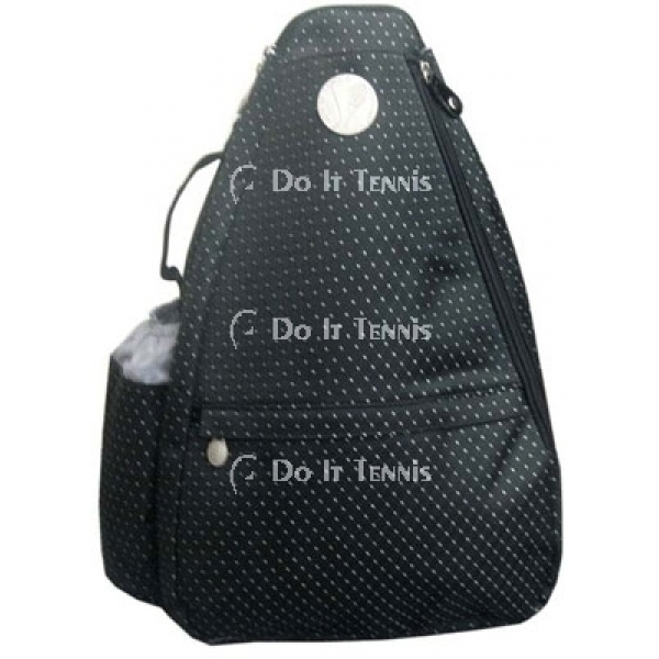 Jet Black Dot Small Sling