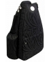 Jet Black Knight Small Sling Convertible - Tennis Sling Bag
