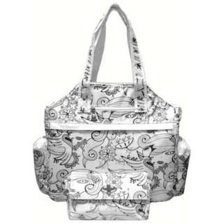 Jet Enchantment Tennis Tote