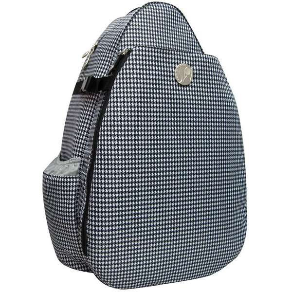 Jet Hounds Tooth Large Sling Tennis Bag