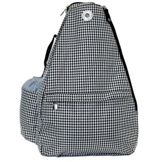 Jet Hounds Tooth Small Sling Tennis Bag