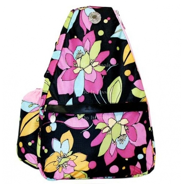 Jet Midnight Blossoms Small Sling Tennis Bag
