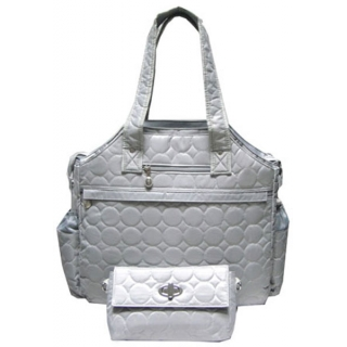 Jet New Vogue Tennis Tote (Silver)