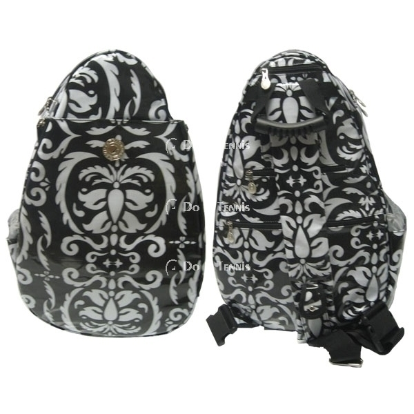 Jet Paisley Black & White Large Sling