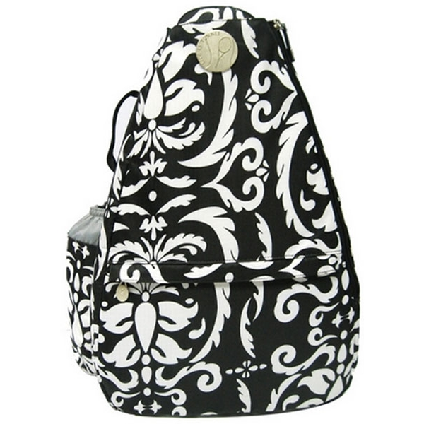 Jet Paisley Black & White Small Sling