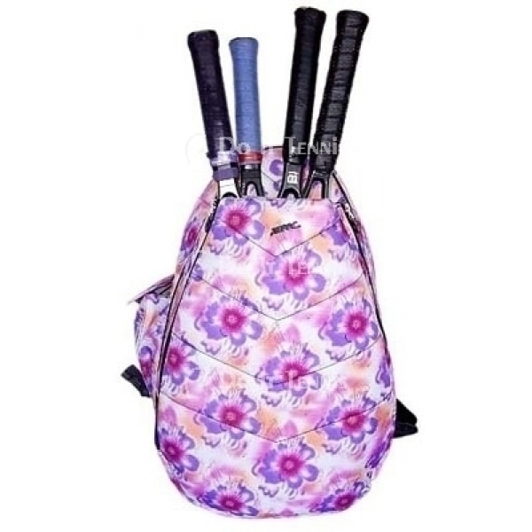 Jet Purple Tropical Large Sling Tennis Bag