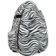 Jet Racing Stripes (Zebra) Large Sling - Jet Large Tennis Bags