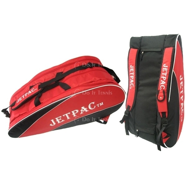 Jet Red/Black Large Pro Tennis Bag