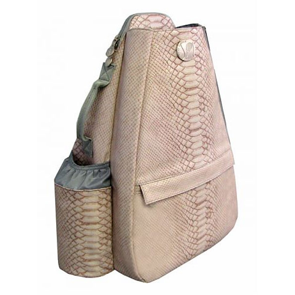 Jet Reptilian Rose Small Sling Tennis Bag