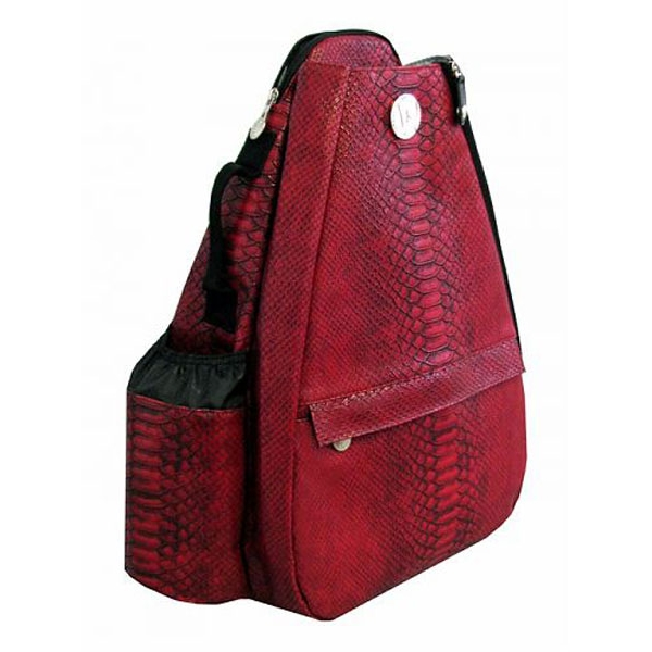 Jet Reptilian Scarlet Small Sling Tennis Bag