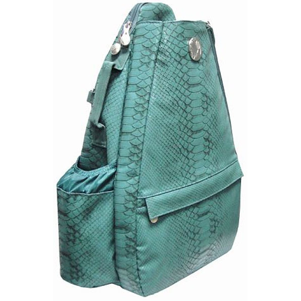 Jet Reptilian Teal Small Sling Tennis Bag