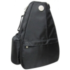 Jet Solid Black Small Sling  Bag - Tennis Sling Bag