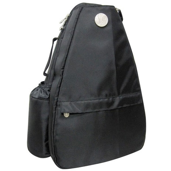 Jet Solid Black Small Sling Tennis Bag