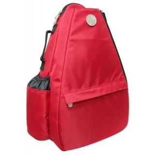Jet Solid Red Small Sling Tennis Bag