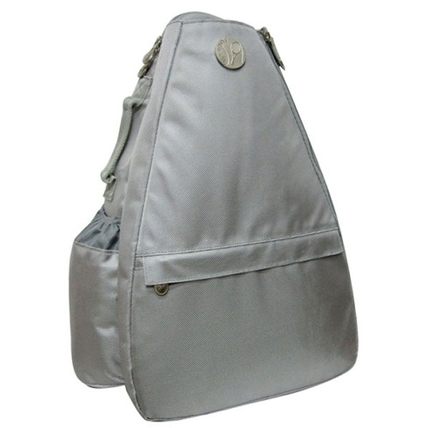 Jet Solid Silver Small Sling Tennis Bag
