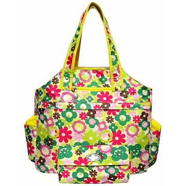Jet Spring Meadow Tennis Tote