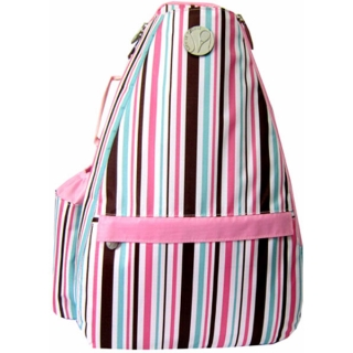 Jet Stripes and More Small Sling Tennis Bag
