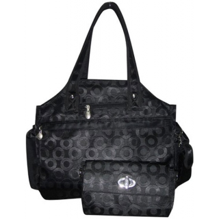 Jet Winners' Circle Black Tennis Tote