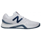New Balance Men's MC1296W2 (D) Tennis Shoes (White/Blue) - New Balance Tennis Shoes