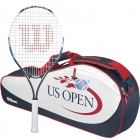 Wilson US Open Junior Racquet, US Open 3 Pack - Wilson Junior Tennis Racquets, Bags, Shoes and More