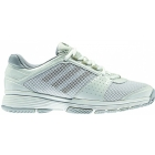 Adidas Women's Adipower Barricade Team 3 (Wht/ Gry) - Tennis Shoes