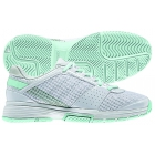 Adidas Women's Barricade Team 3 Tennis Shoes (White/ Green) - Tennis Shoe Brands