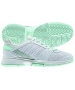 Adidas Women's Barricade Team 3 Tennis Shoes (White/ Green) - Adidas Barricade Team Tennis Shoes