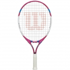 Wilson Juice Pink 21 Junior Tennis Racquet - Tennis Racquets For Kids 5 & 6 Years Old