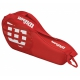Wilson Junior Match 3 Pack Tennis Bag (Red/White) - Wilson Tennis Bags