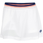 Lotto Women's Shela Skirt (White/ Navy) - Lotto Tennis Apparel