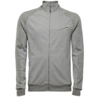 K-Swiss Men's Asym Pocket Tracktop (Grey) - Men's Tennis Apparel