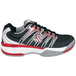 K-Swiss Men's Bigshot Tennis Shoe (Blk/ Red/  Wht)