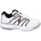K-Swiss Men's Bigshot Shoes (Wht/ Sil/ Blk) - Tennis Shoe Brands