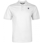 K-Swiss Men's Classic Polo (White) - K-Swiss Men's Apparel Tennis Apparel