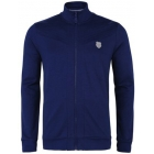 K-Swiss Men's Stitched Tracktop (Navy) - Men's Outerwear Warm-Ups Tennis Apparel
