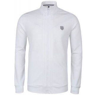 K-Swiss Men's Stitched Tracktop (White)