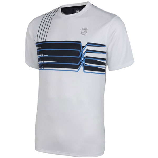 K-Swiss Men's Velocity Crew (Wht/ Optic/ Nvy)
