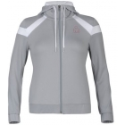 K-Swiss Women's Accomplish Hoody (Gry/ Wht) - K-Swiss Tennis Apparel