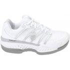 K-Swiss Women's Bigshot Shoes (White/Silver) - Tennis Shoe Brands