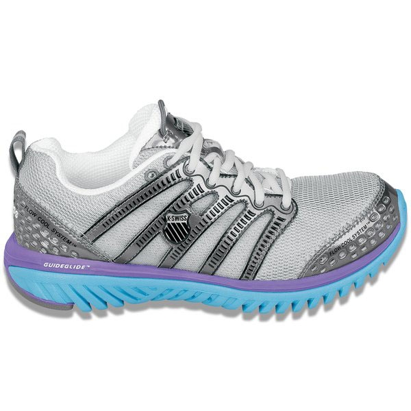 K-Swiss Women's Blade-Light Run (Sil/ Blu/ Vlt)