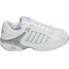 K-Swiss Women's Defier RS Shoes (Wht/ Blu/ Sil) - Women's Tennis Shoes